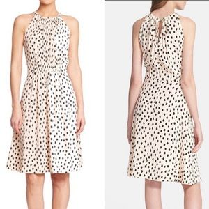 Kate Spade Leopard Dot Dress Size 0